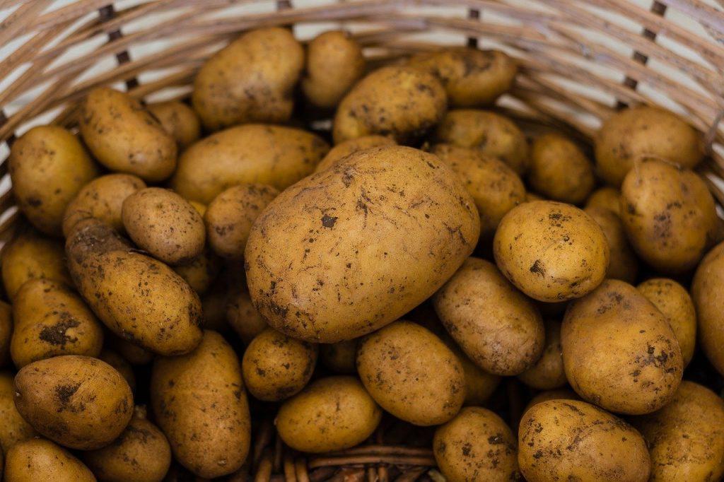 potato, potatoes, vegetables